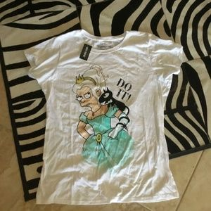 Hot Topic Disenchanted Tee size 3xl new fit 1x